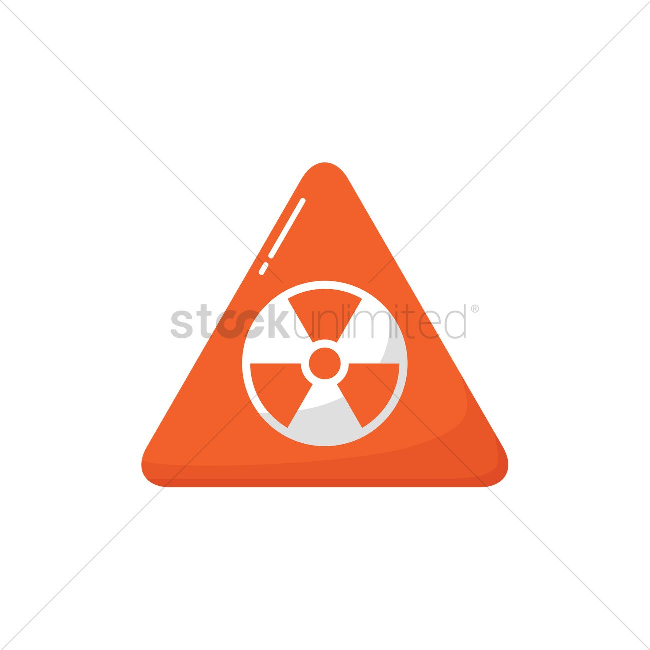 1300x1300 Radiation Vector Image