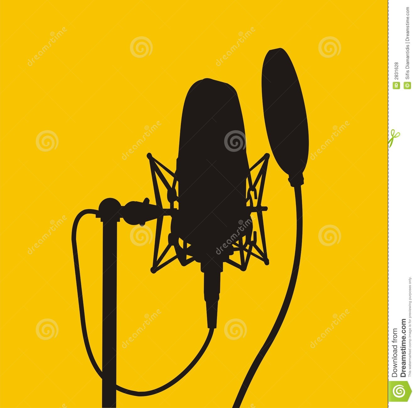 1325x1300 Microphone (Vector) Clipart Panda