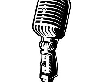 340x270 Microphone Vector Etsy