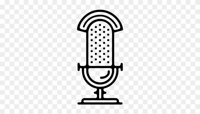 840x481 Old Radio Microphone