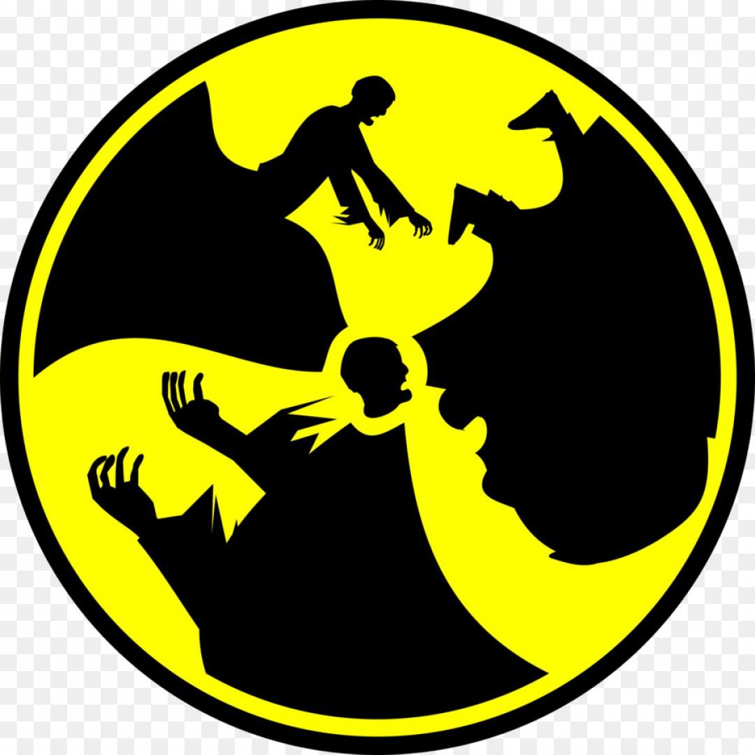 1080x1080 Png Radioactive Decay Symbol Radiation Warning Sign Cl Lazttweet