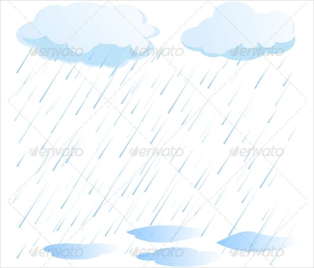 620x529 Rain Vectors