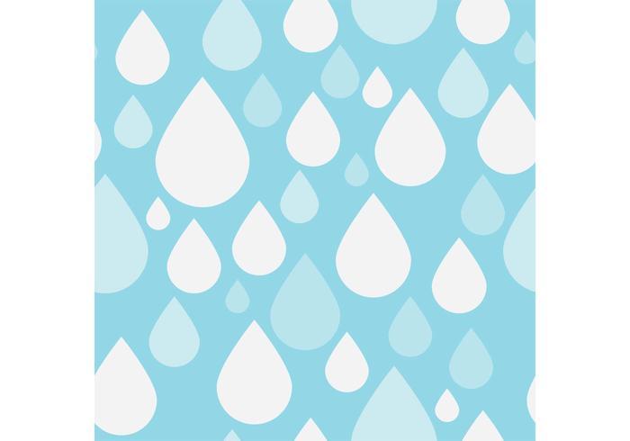 700x490 Pattern Vector Of Simple Rain Drops