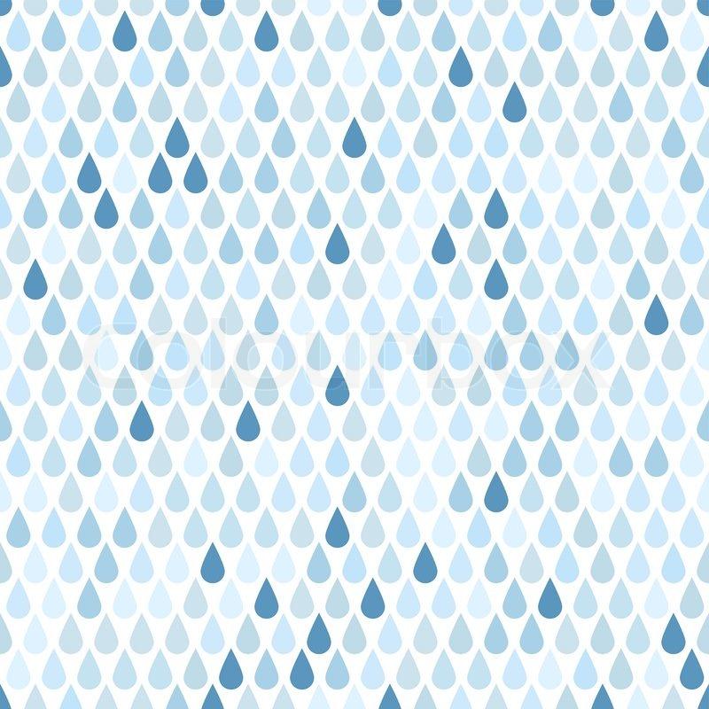 800x800 Rain. Seamless Background. Stock Vector Colourbox