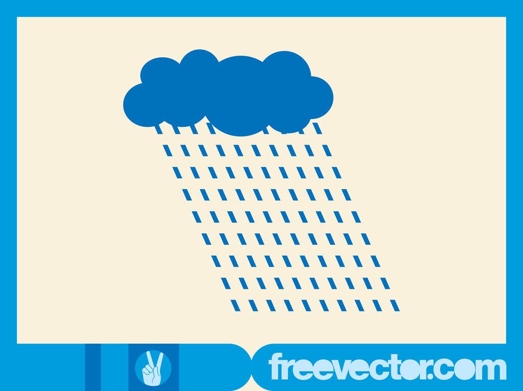 1024x765 Vector Rain Cloud Vector Art Amp Graphics