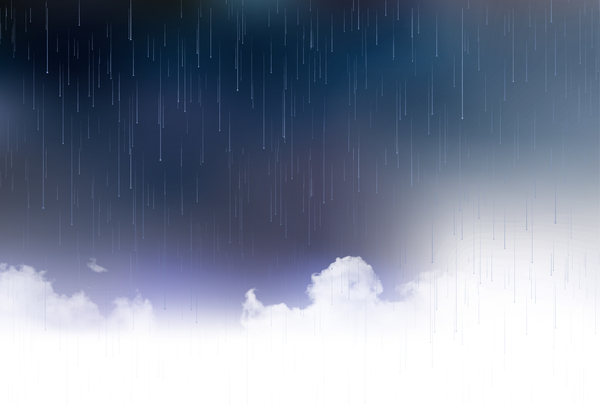 600x405 Dark Storm Sky With Rain Vector Background 02 Free Download