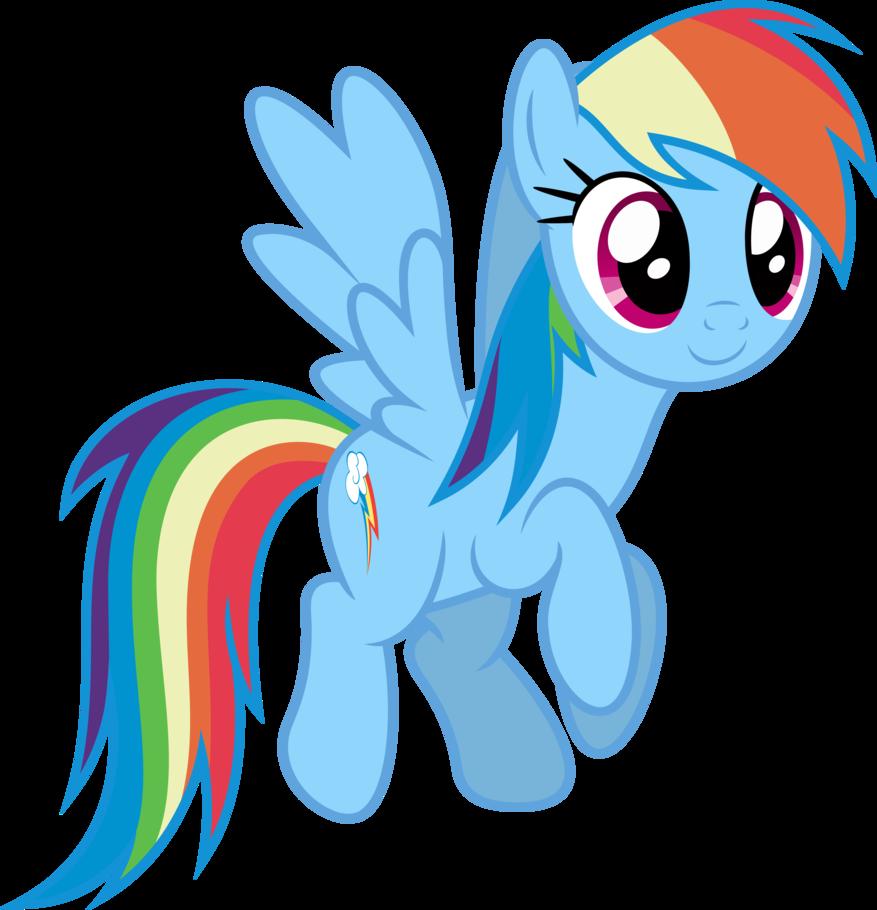 877x910 Mlp Fim Rainbow Dash (...) Vector