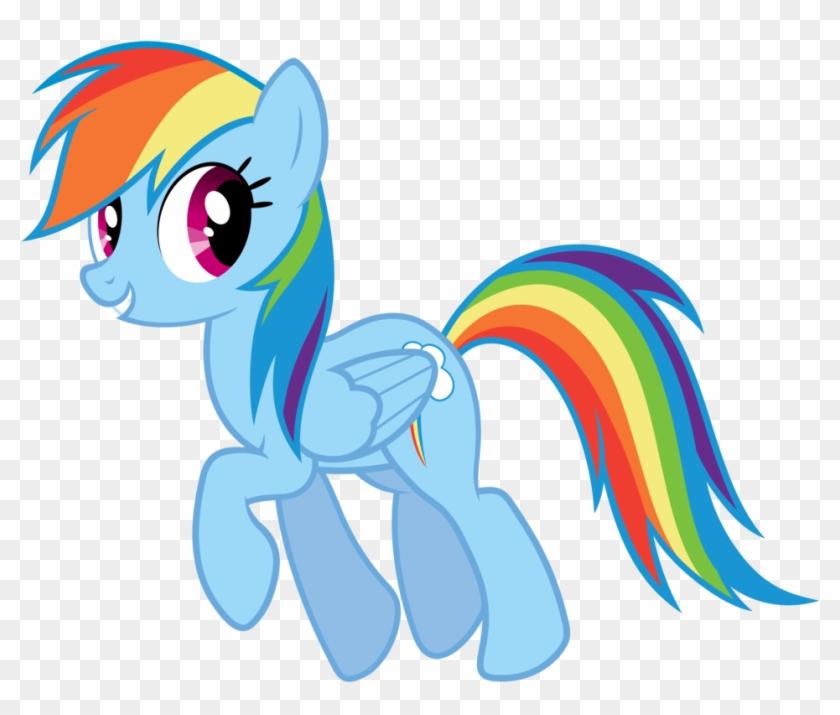840x715 Rainbow Dash Vector