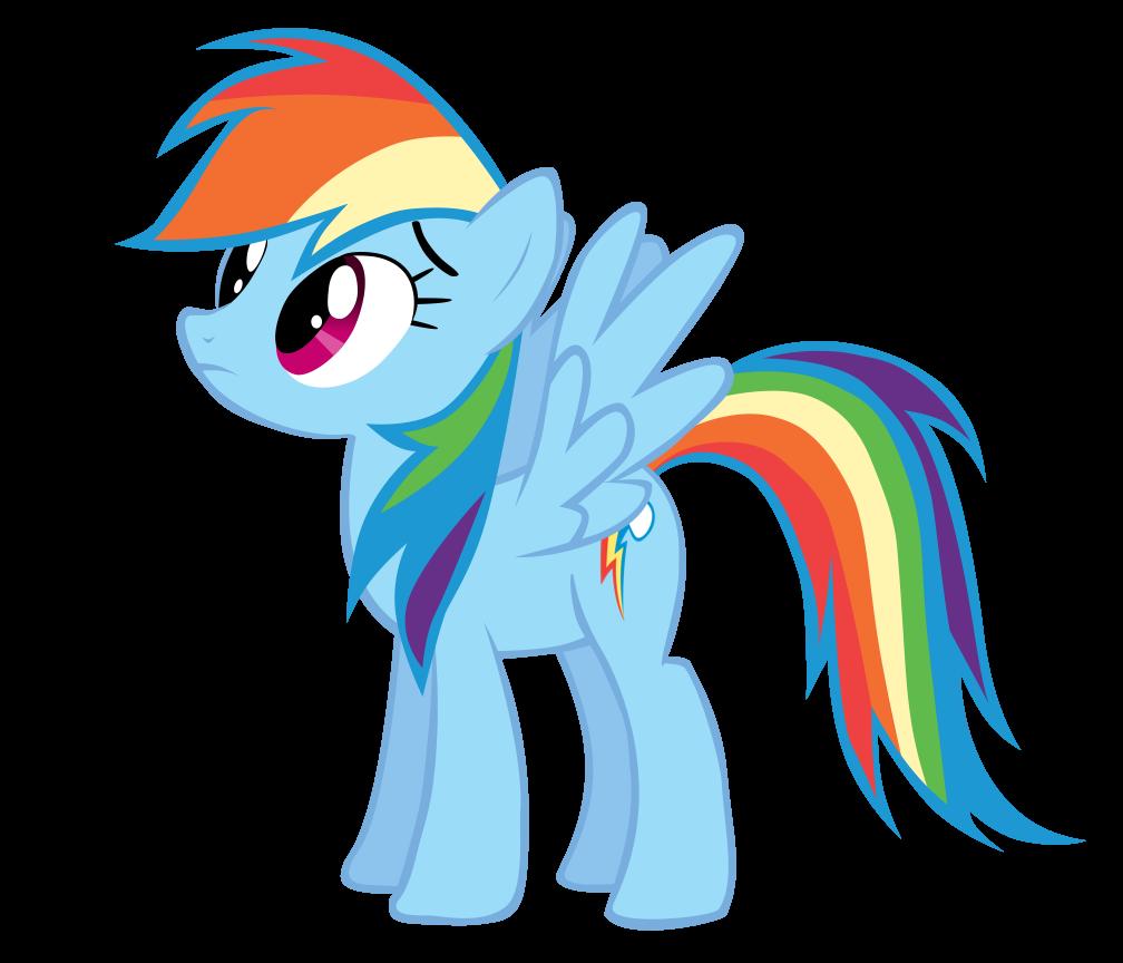 1008x864 Rainbow Dash Vector