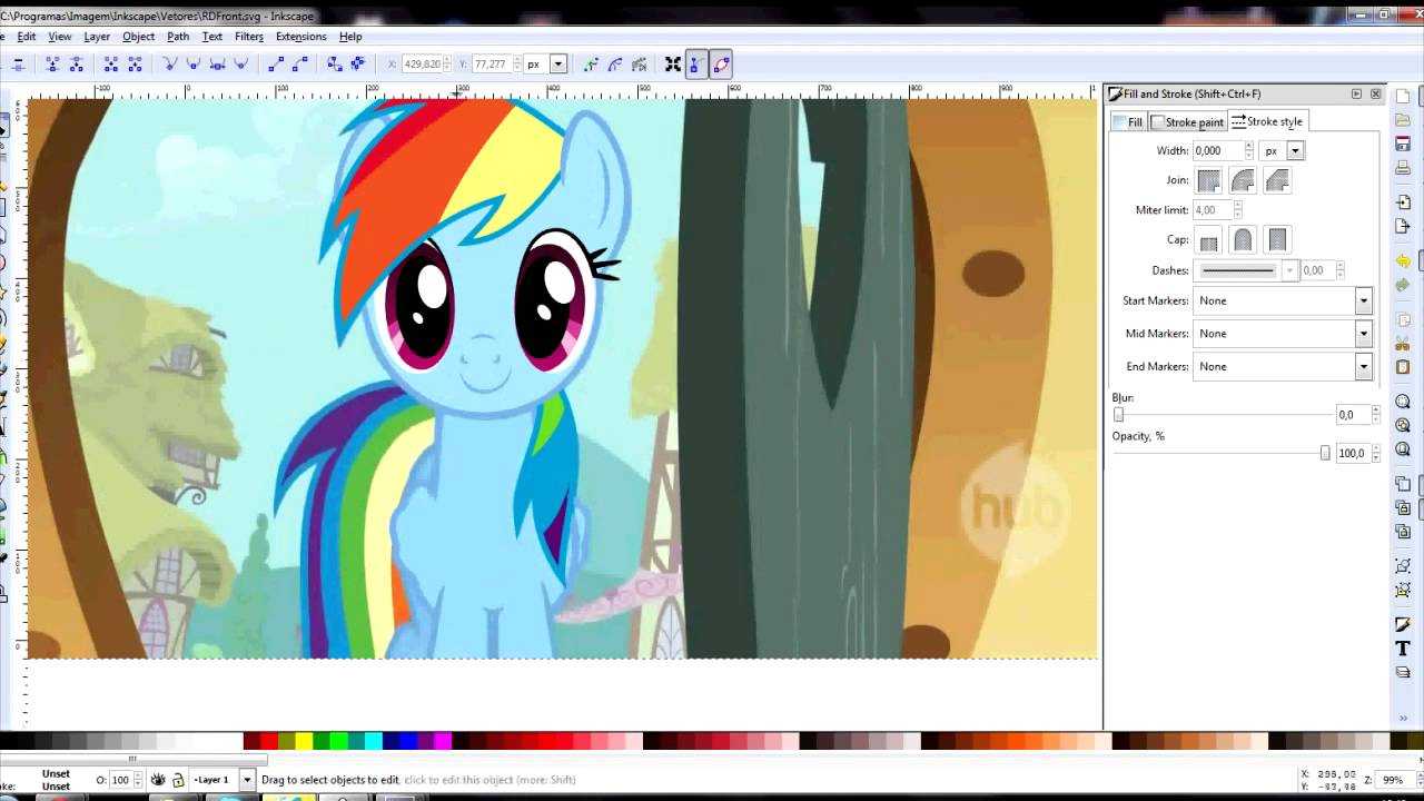 1280x720 Speed Vector] Rainbow Dash