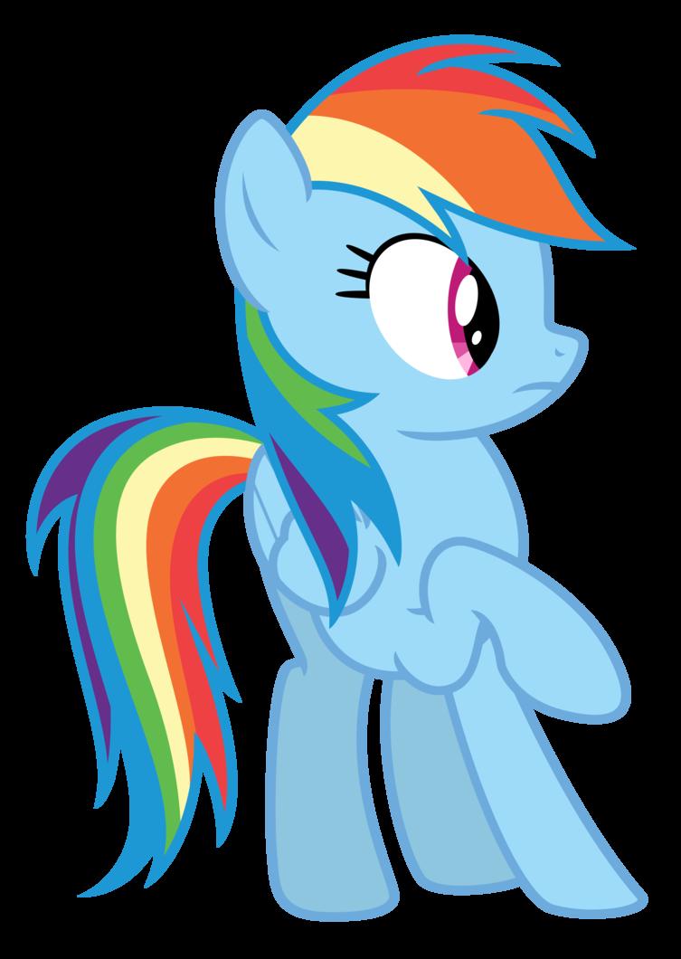 753x1060 Vector Rainbow Dash 16 By Estories