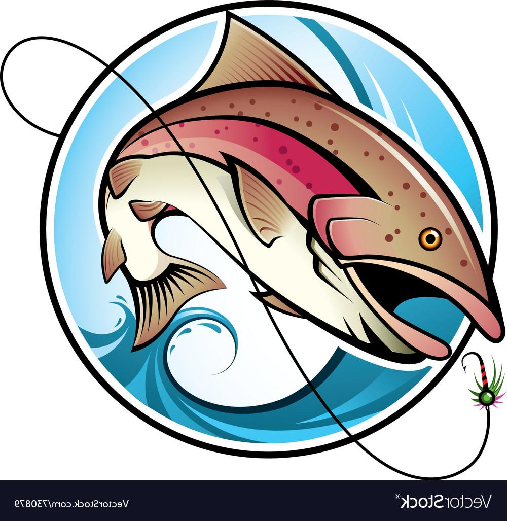 1000x1027 Best Hd Rainbow Trout Vector Cdr
