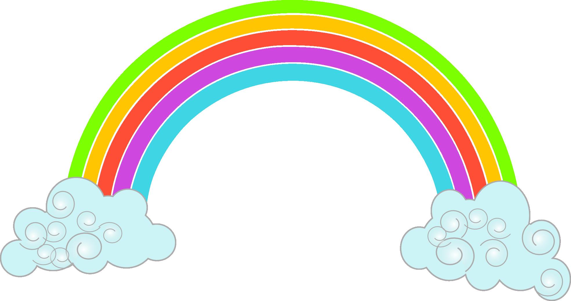 1969x1040 Rainbow Vector