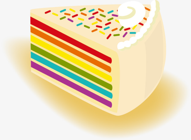 650x477 Vector Rainbow Cake, Rainbow Vector, Cake Vector, Cake Clipart Png