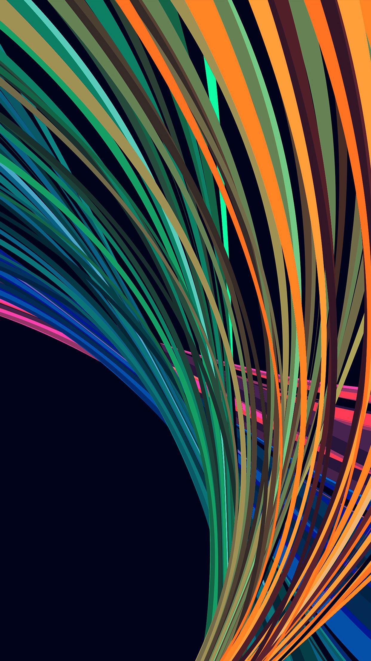 1242x2208 Iphone7 Wallpaper Vn57 Rainbow Line Vector