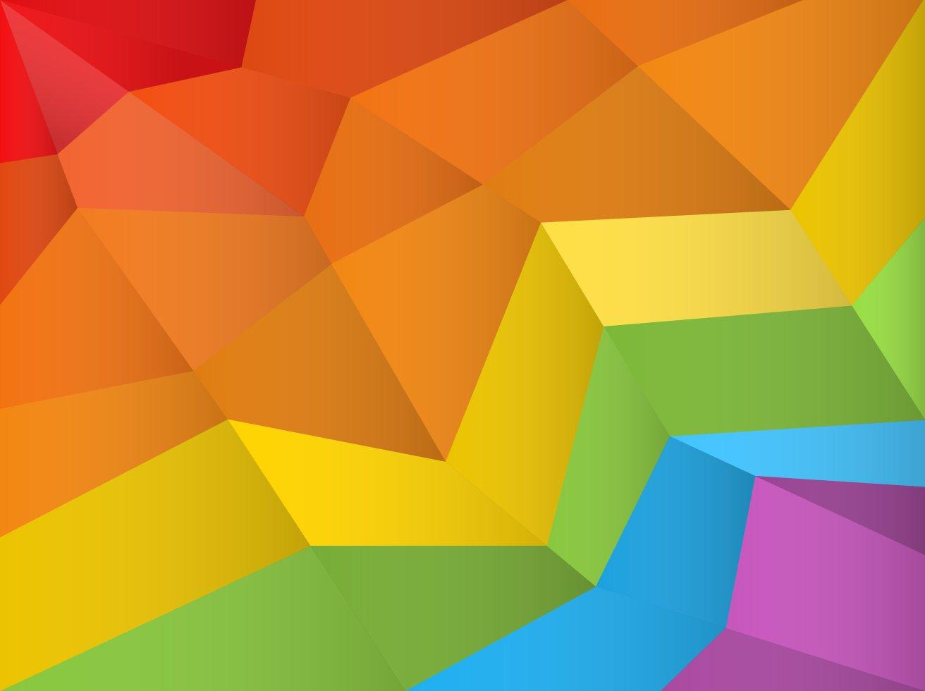 1312x980 Free Polygonal Rainbow Background Vector Vector Art Amp Graphics