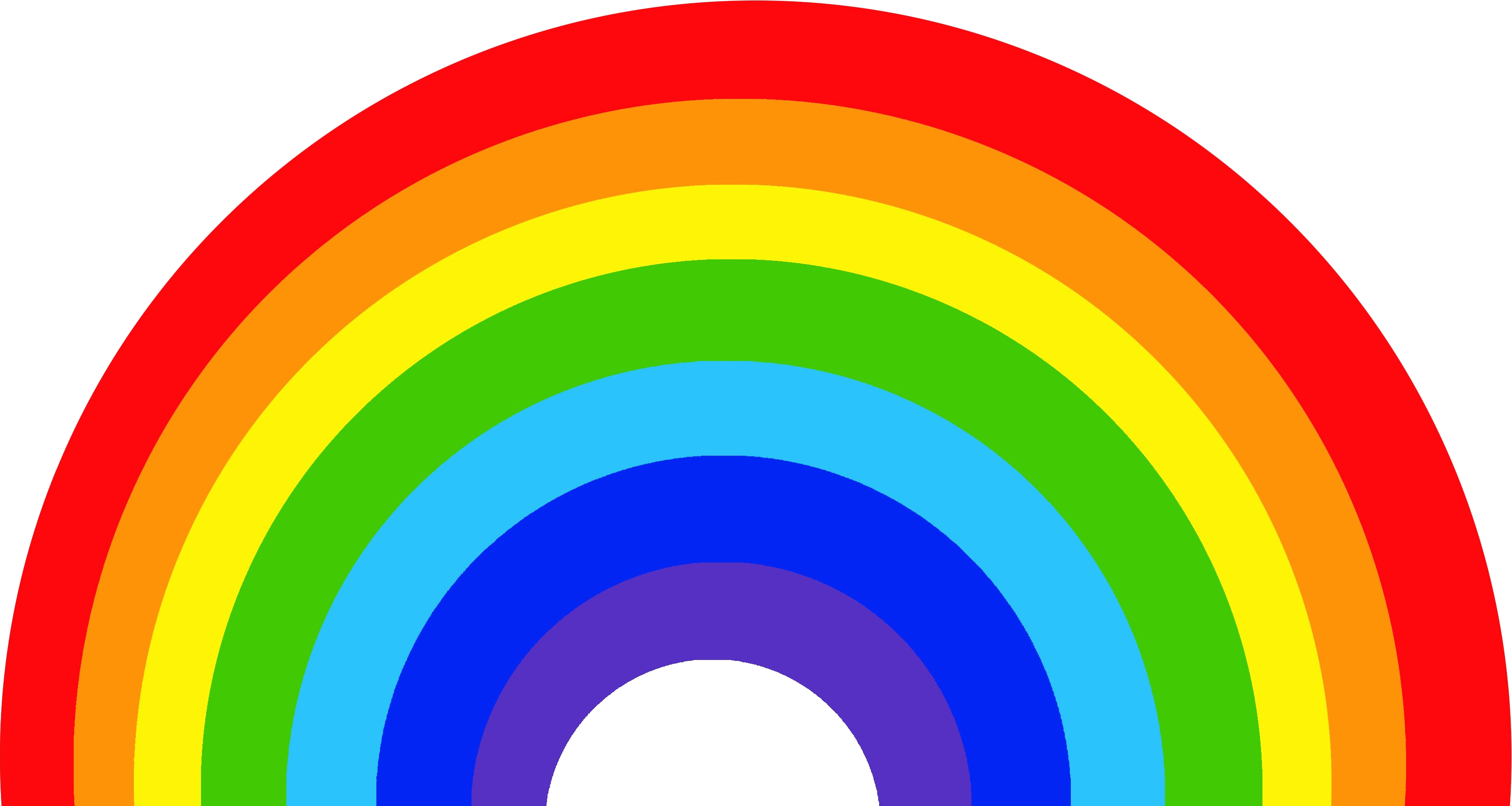 Rainbow Vector Png