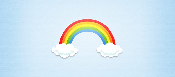 680x300 Free Rainbow And Clouds Psd Files, Vectors Amp Graphics
