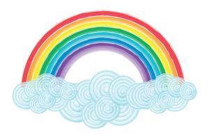 300x200 Rainbow Free Vector Art