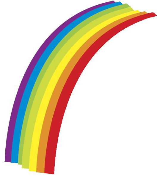 528x595 Rainbow Clip Art Free Vector 4vector