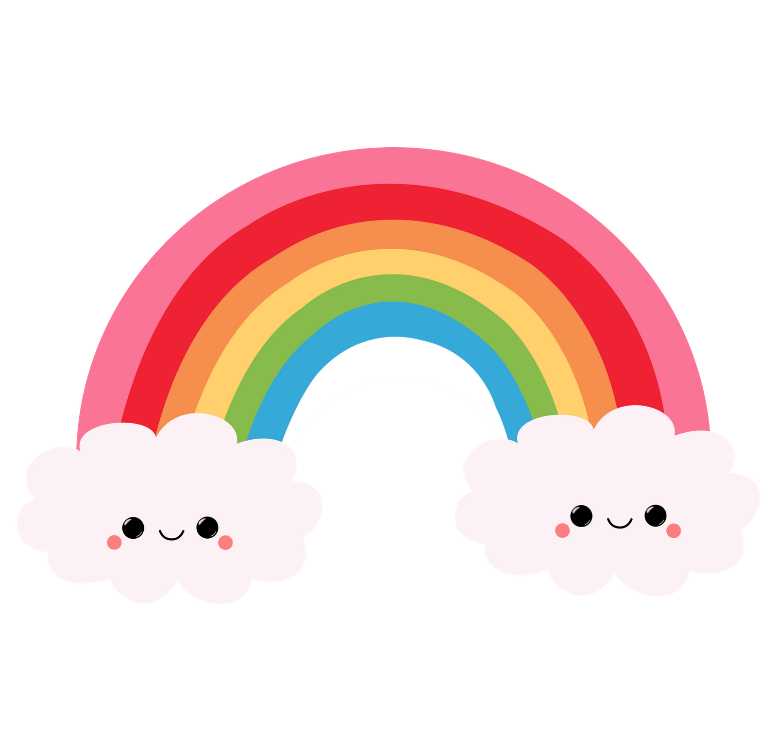 1600x1548 Sun And Rainbow Vector Black And White