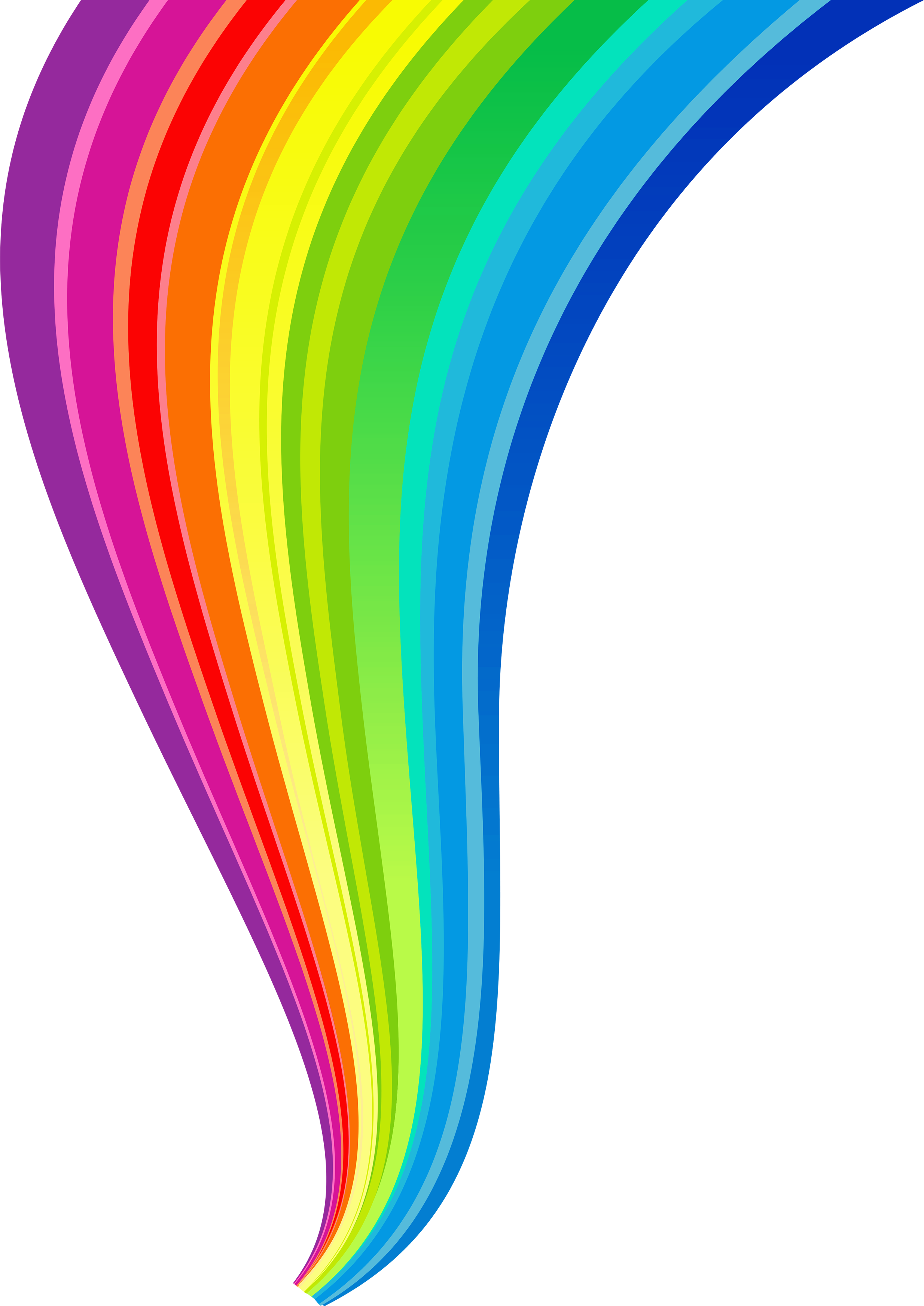 2469x3488 Collection Of Free Rainbow Vector Lines. Download On Ubisafe