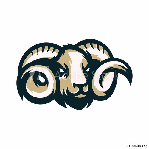 Ram Animal Vector