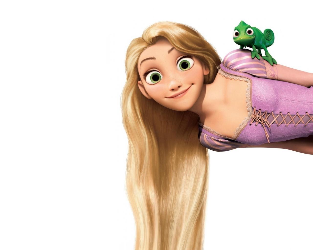 1280x1024 Long Hair Clipart Disney Rapunzel