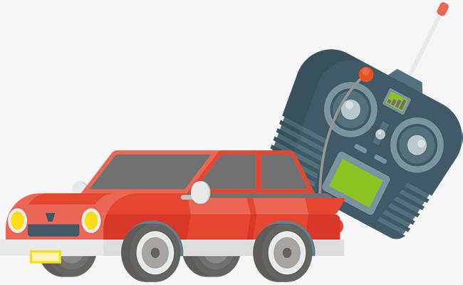 650x400 A Red Remote Control Car, Car Vector, Car Clipart, Vector Material
