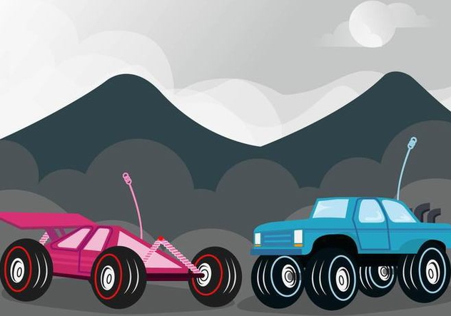 632x443 Rc Car Competition Vector Free Vector Download 433307 Cannypic