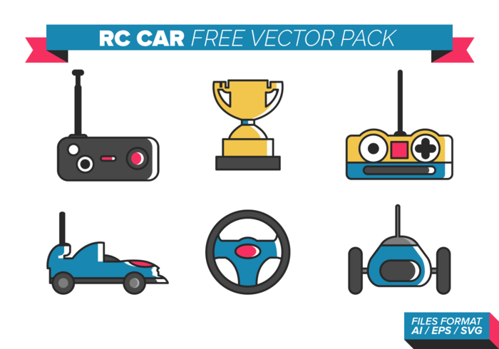 700x490 Rc Car Free Vector Pack