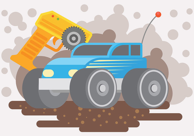 632x443 Rc Car Vector Background Free Vector Download 440265 Cannypic