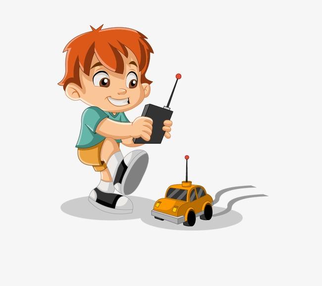 650x577 Remote Control Car, Vector Boy, Cute Boy, Cartoon Boy Png And