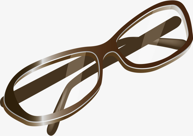 650x459 Myopia Png Vector Element, Reading Glasses, Vector, Brown Png And