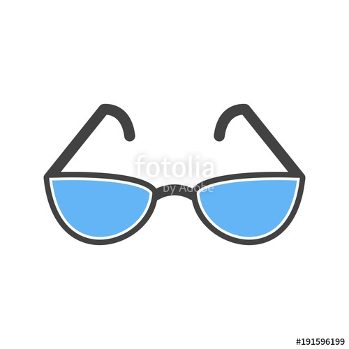 500x500 Reading Glasses Icon Stock Image And Royalty Free Vector Files On