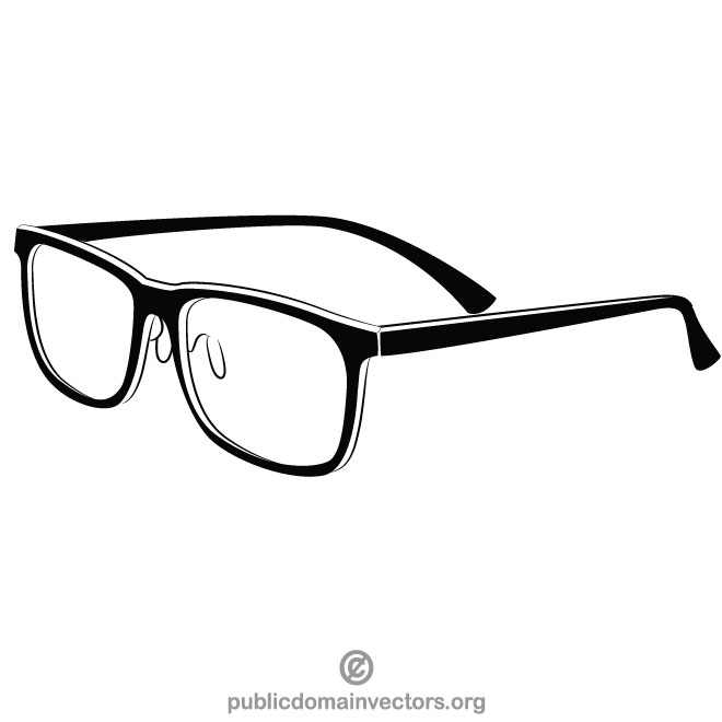 660x660 Reading Glasses Vector Graphics