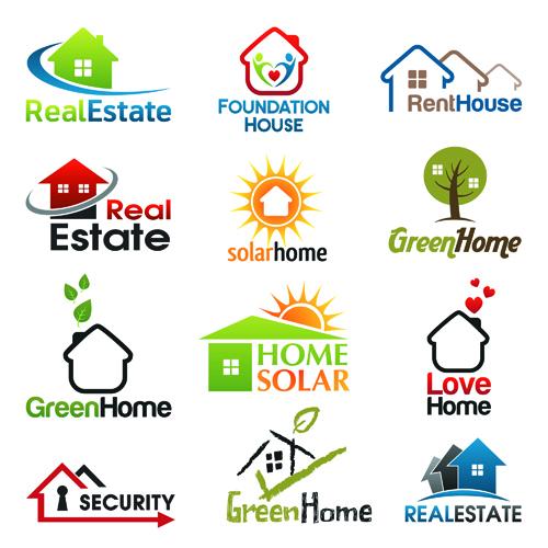 Real Estate Logo Vector Free