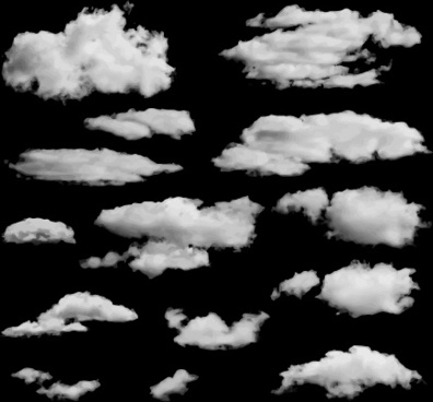 396x368 Realistic Vector Clouds Free Vector Download (3,050 Free Vector