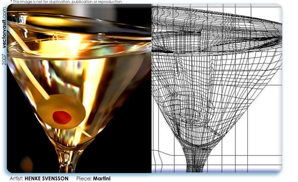 600x366 Henke Svensson Ultra Realistic Vector Art Vectorvault