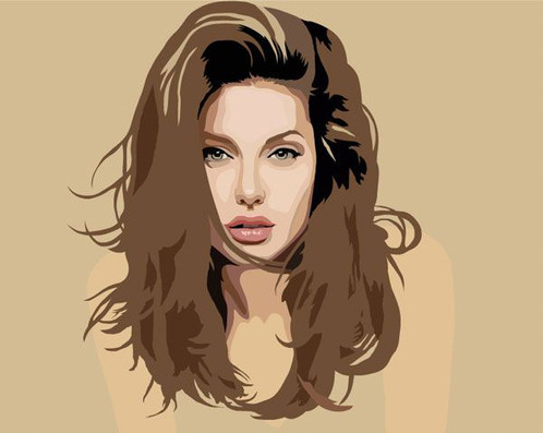 498x397 Sketching High Quality Realistic Vector Portrait Photo