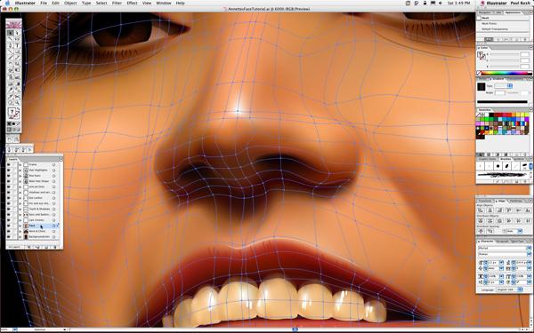 600x375 30 Illustrator Gradient Mesh Tutorials To Help Enhance Your Vector