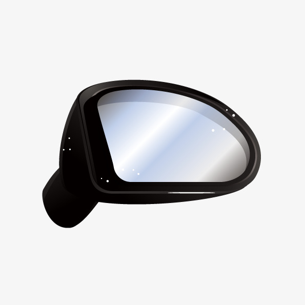 595x595 Vector Creative Car Right Side Mirrors, Car Vector, Rearview