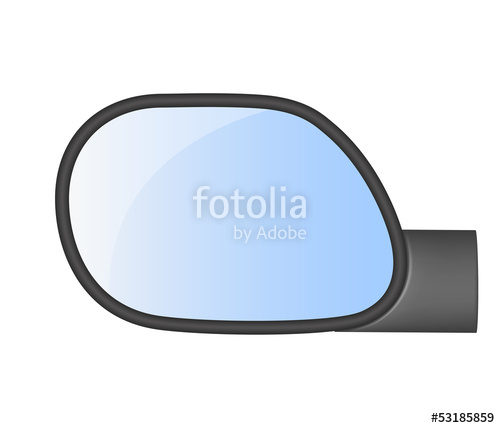 500x428 Car Rear View Mirror Stock Image And Royalty Free Vector Files On