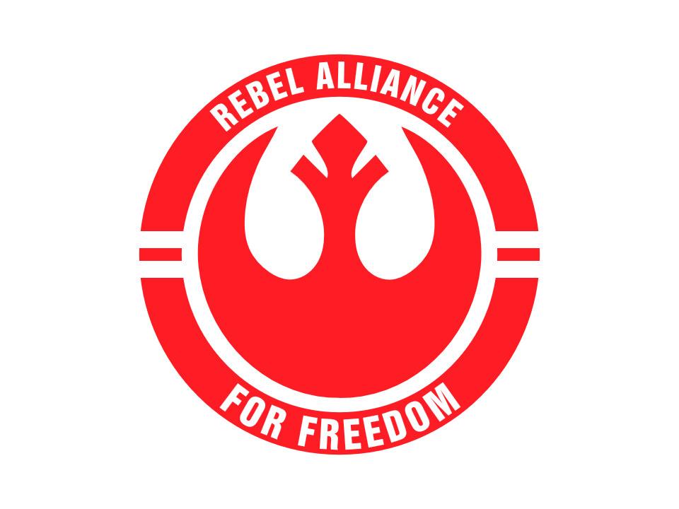 960x720 Rebel Alliance Symbol Vector Created In Adobe Illustrator