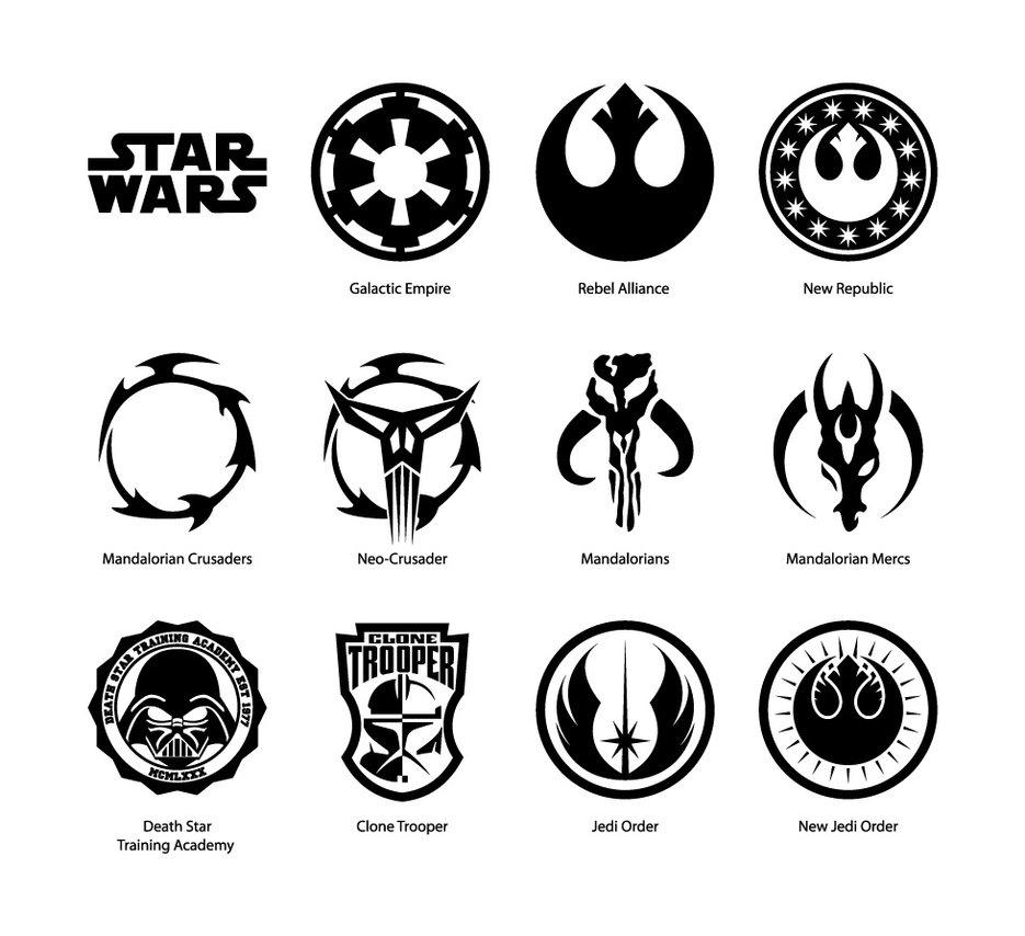 935x854 Star Wars Vector Emblems By Cartonus