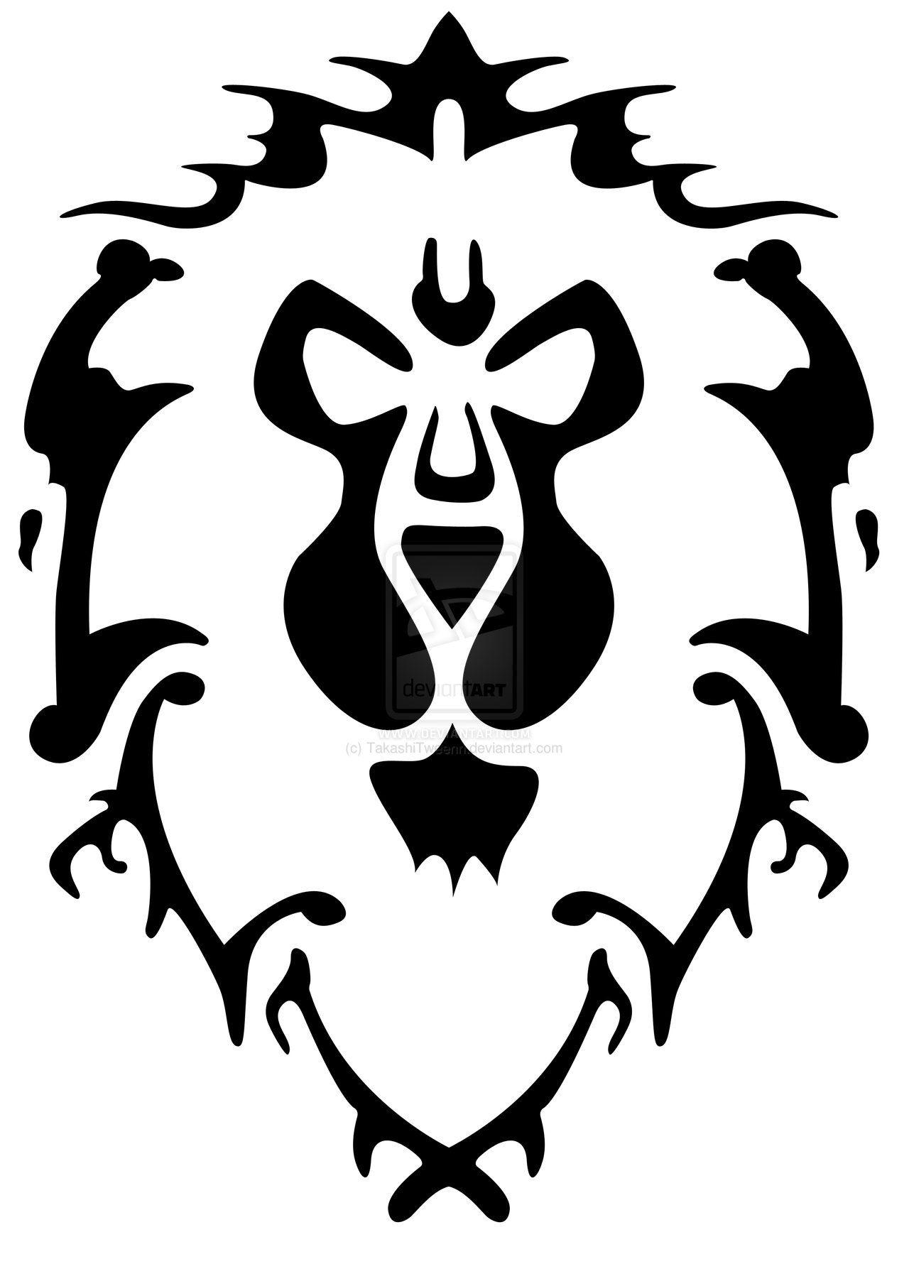 1280x1811 Warcraft Alliance Logo Vector Wow Alliance Kk Logos In 2018