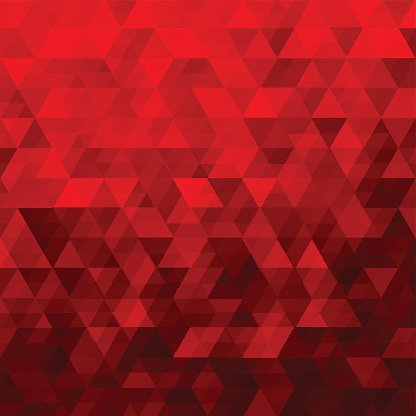 416x416 Red Abstract Geometric Triangle Background Vector Illustration