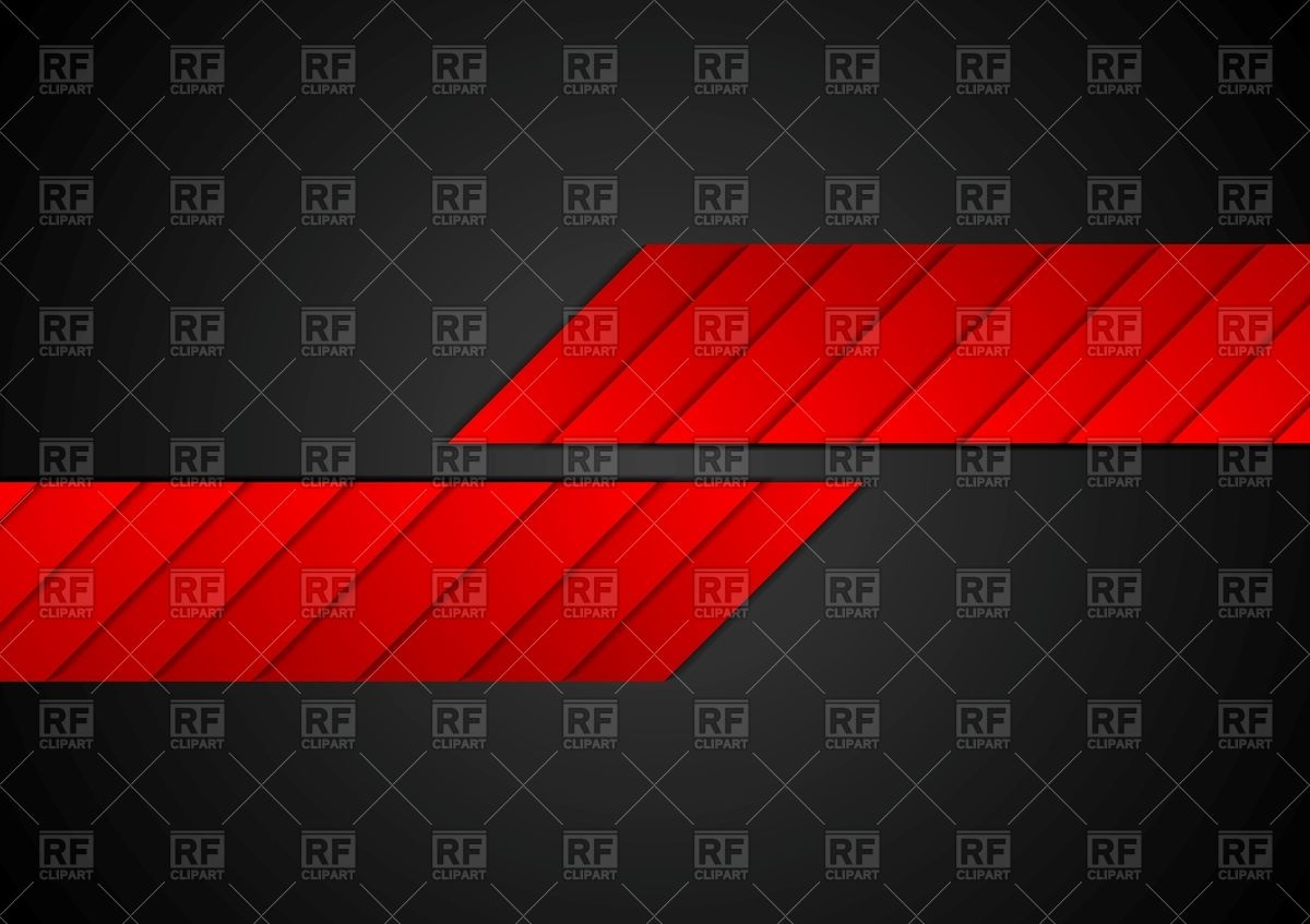 1200x847 Red Black Geometric Abstract Background Vector Image Vector