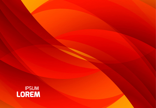 500x347 Red Wave Abstract Vector Background Free Vector In Encapsulated