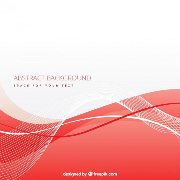 626x626 Abstract Background With Red Wave Vector Free Download